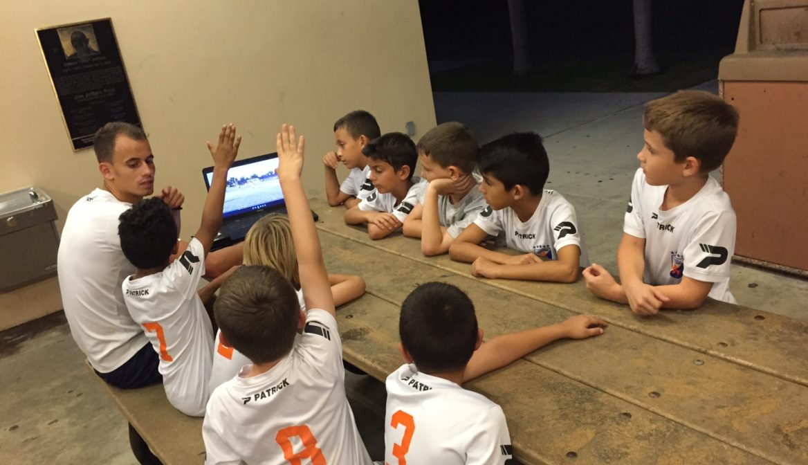 FGCDL FC U9B first to start with video analysis