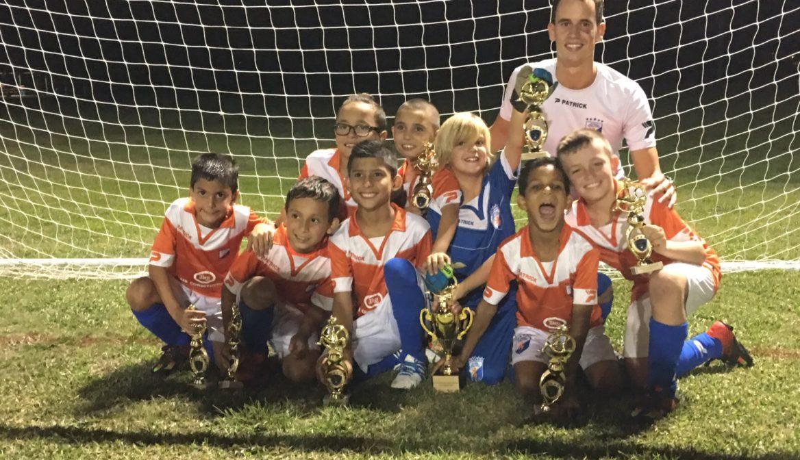 FGCDLFC U9 champions fall season 2015