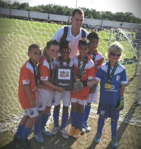 FGCDLFC U9 ends second at thanksgiving cup