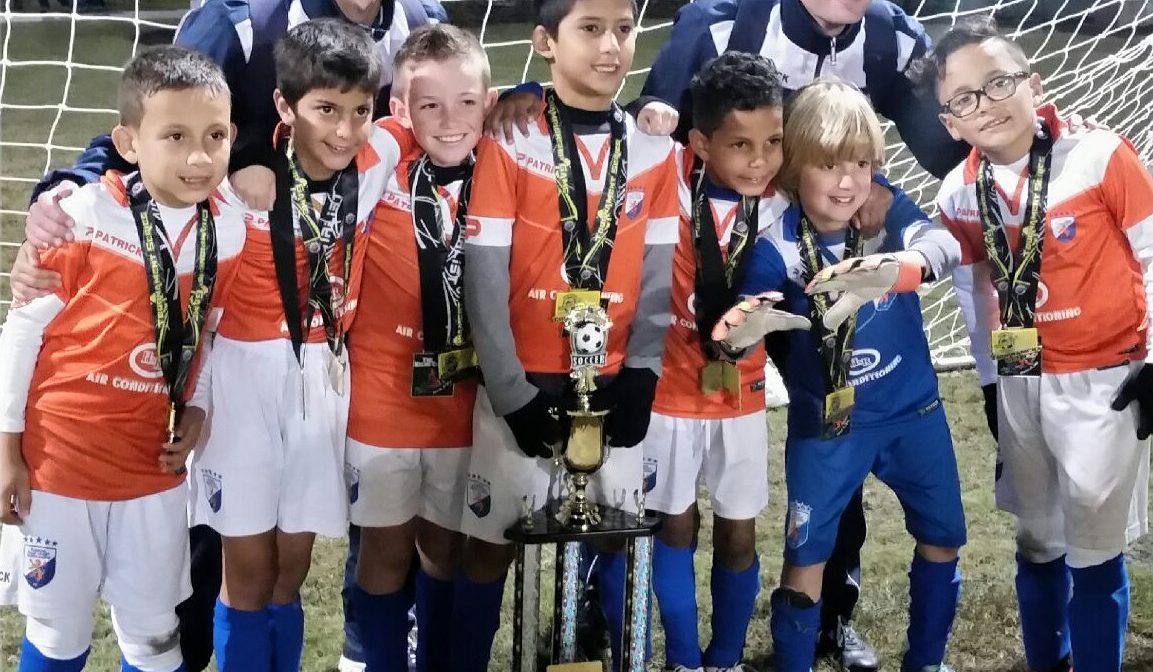 U8 & U9 participated in Kelme Cup