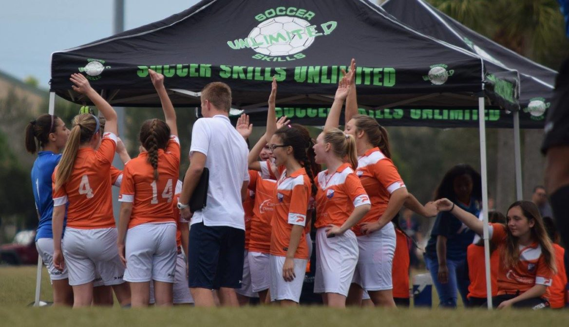 Great experience for the U15 girls at the Kelme Cup