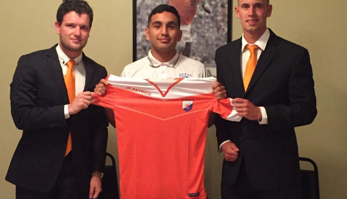 Cristian Alcala newest men's team player