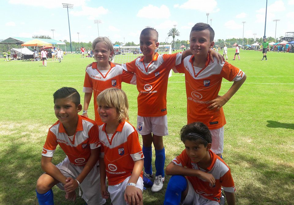 U9 boys 3rd in Silver Bracket at 3v3 Nationals