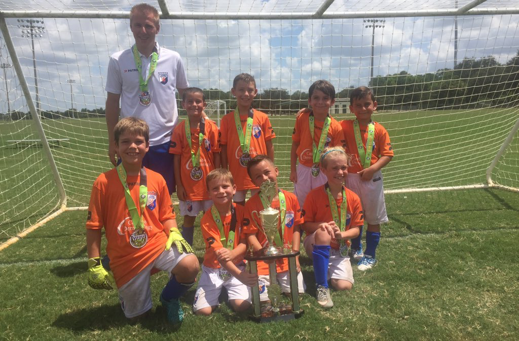 FGCDL FC teams performed  well at Labor Day Tournament