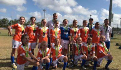 FGCDL FC U13G 2nd at the Dimitri Cup