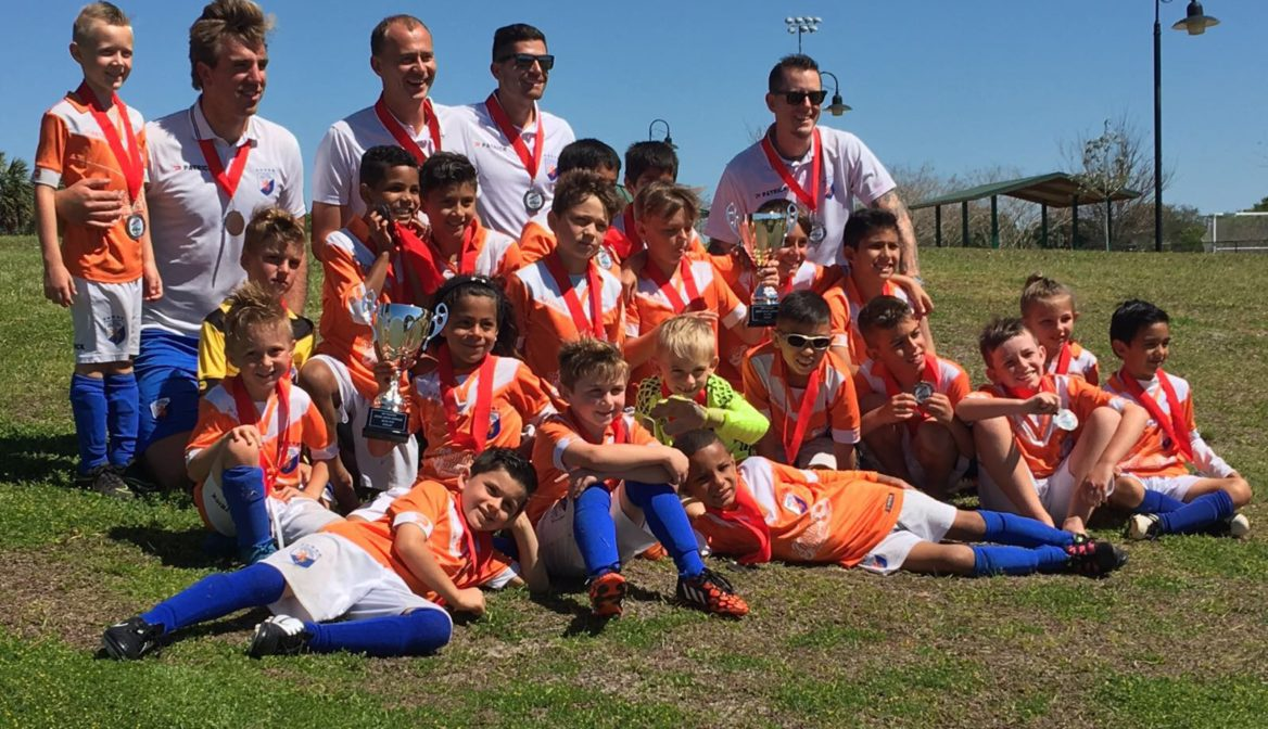 Our U8 and U11B finished 2nd at Bazooka Soccer Junior Showcase