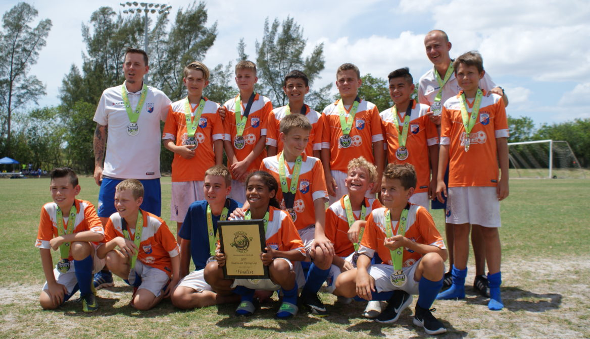FGCDL FC U13B second at Southwest Spring Cup