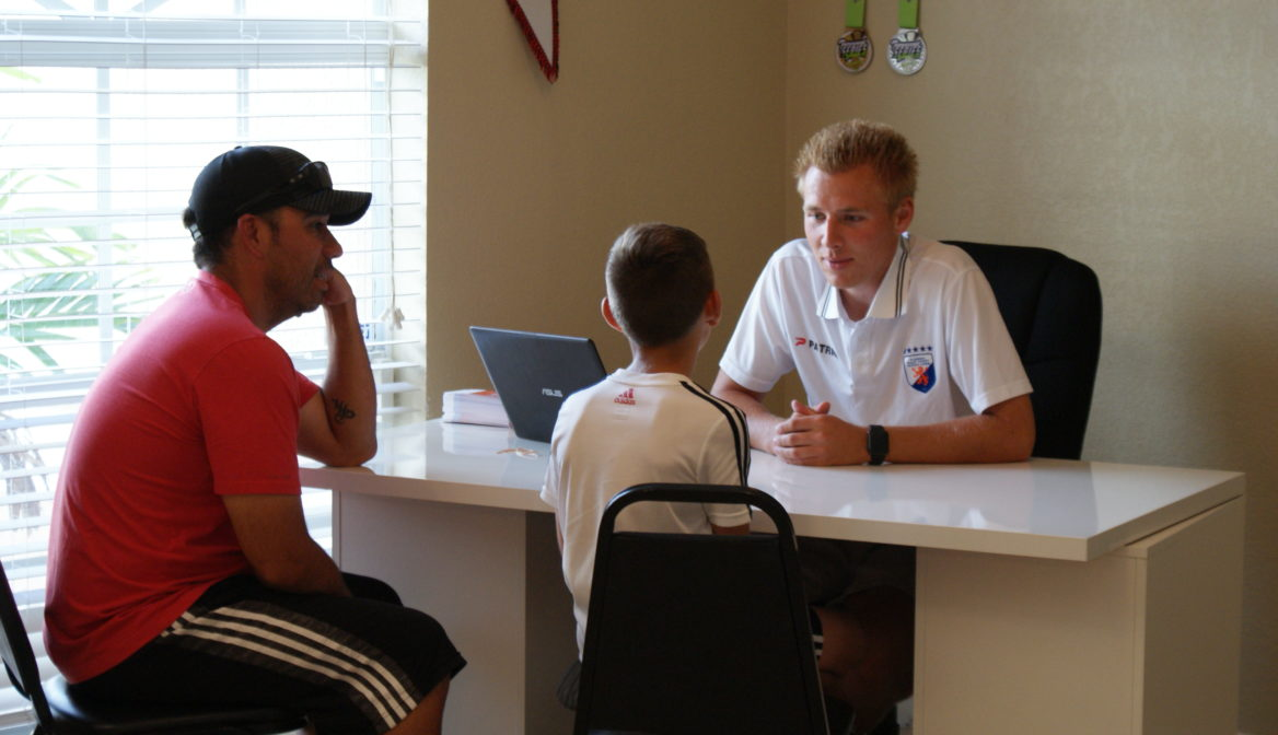 Player Evaluations for the Youth Academy