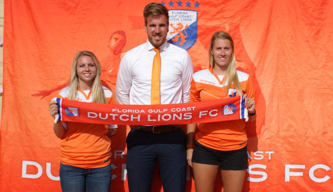 FGCDL FC signs Franny Farella and Marissa Stovring