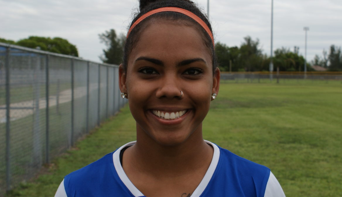 FGCDL FC Women's Team player Monique Elliot is one of the Lion Cubs Coaches
