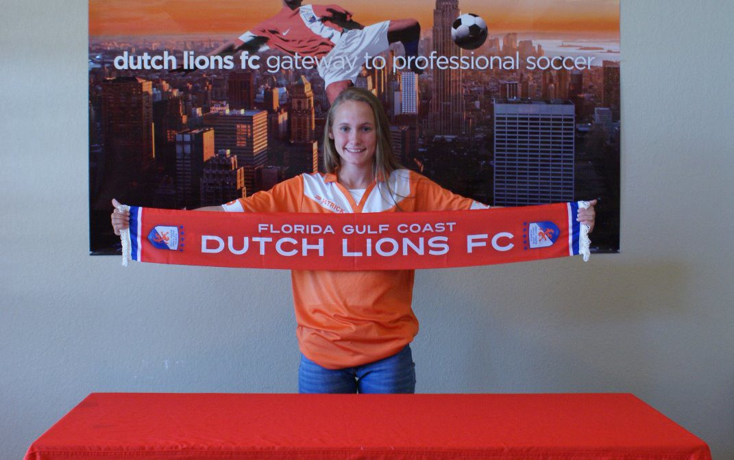 FGCDL FC signs youngster Tori Thompson