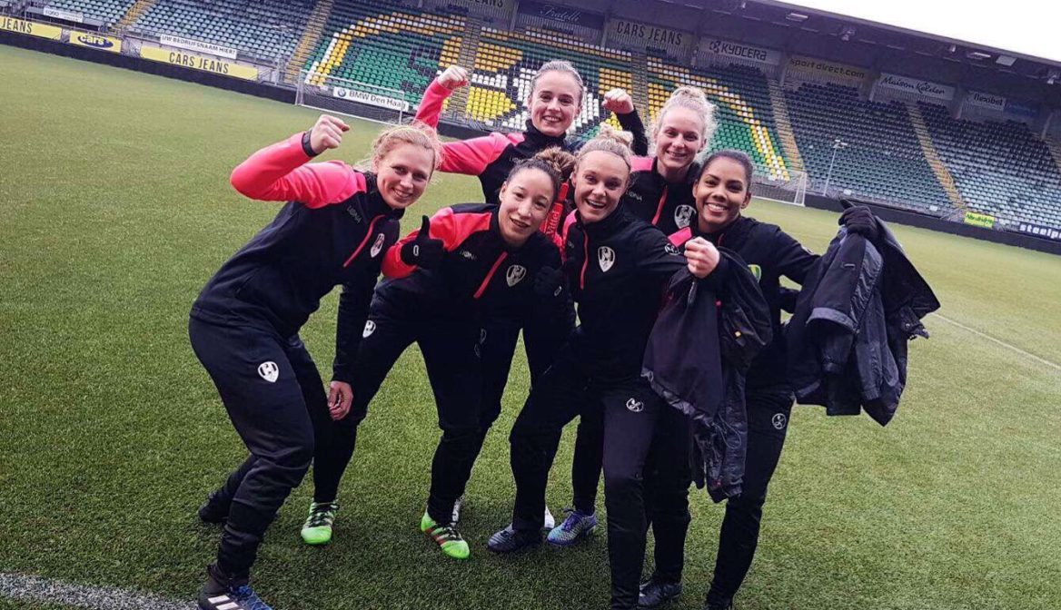 Looking back with Monique Elliot on her trial with Dutch Premier League club ADO Den Haag