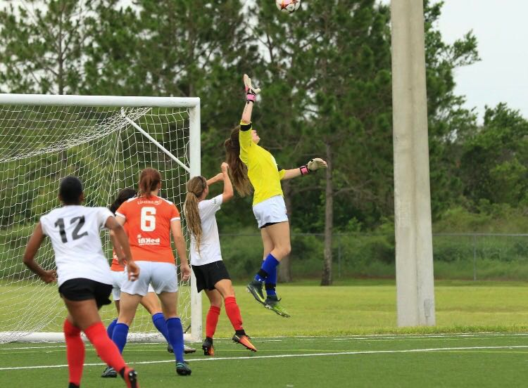 FGCDL FC re-signs College Goalkeeper Casey Winn for our Women's Team